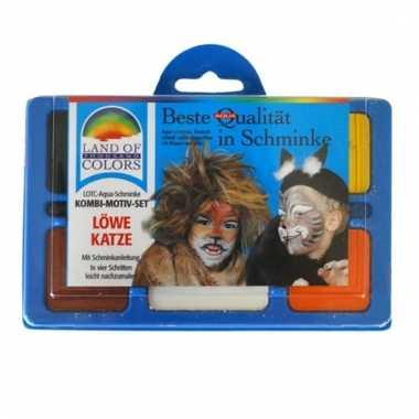 Schminksetje leeuw