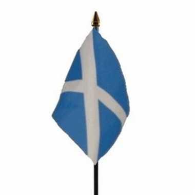 Schotland luxe zwaaivlaggetje polyester