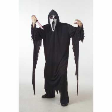 Scream kostuum voor dames en heren