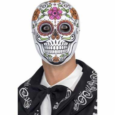 Senor bones masker van plastic