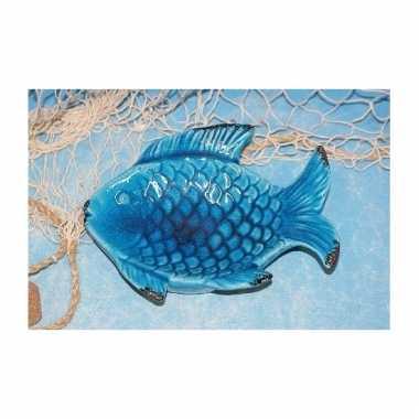 Serveer schaal in vorm van een vis