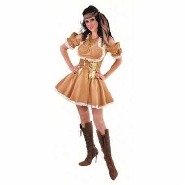 Sexy glanzende gouden jurk