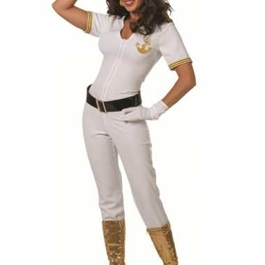 Sexy kapiteinspak/ jumpsuit voor dames