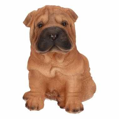 Shar pei hond huiskamer beeldje