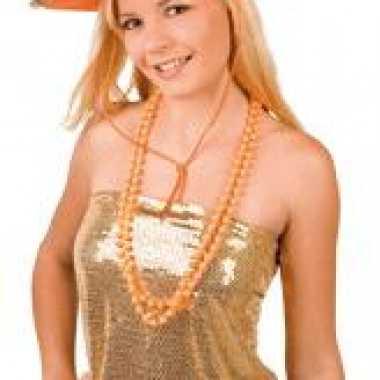 Sheriff cowboyhoed oranje