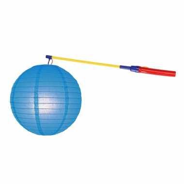 Sint maarten lampionset blauw 25 cm