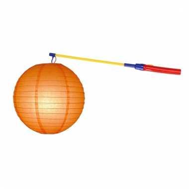 Sint maarten lampionset oranje 25 cm