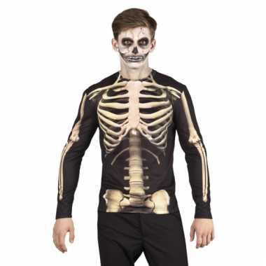 Skeletten herenshirt