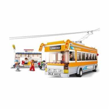 Sluban lijnbus 457 blokjes