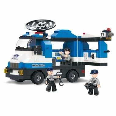 Sluban politieauto blokjes bouwset