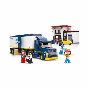 Sluban vrachtwagen 537 blokjes