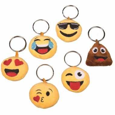 Smiley sleutelhanger in love met geluid