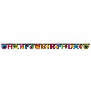 Smiley wenslijn happy birthday