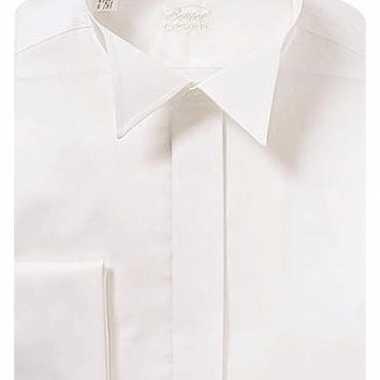 Smoking hemd shirt wit