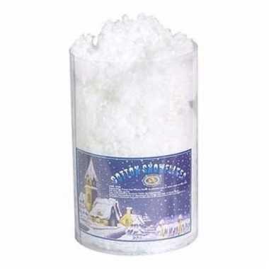 Sneeuwdecoratie bolletjes 85 gram