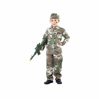 Soldaat carnavalskostuum voor jongens