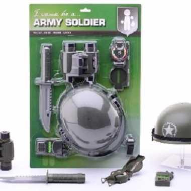 Soldaten speelset voor kids