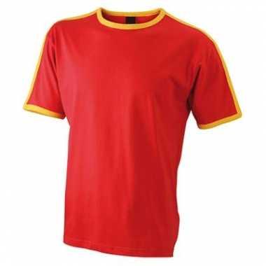 Spaanse kleuren shirt voor mannen