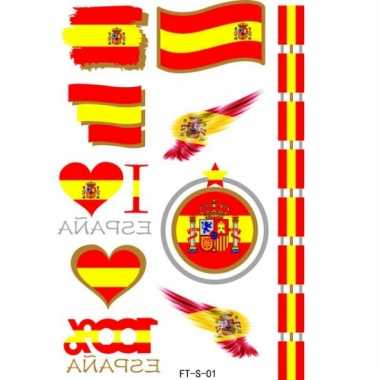 Spaanse supporters tattoos