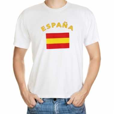 Spaanse vlaggen t-shirts