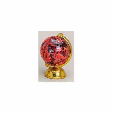 Spaarpotje rode engeland globe