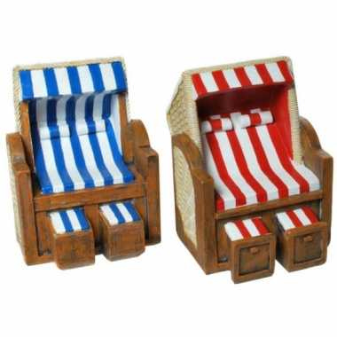 Spaarpotten strandstoel
