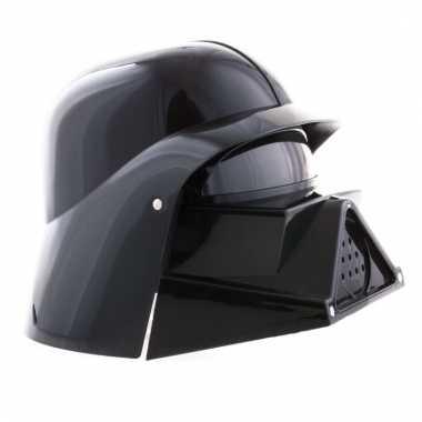 Space helm in het zwart