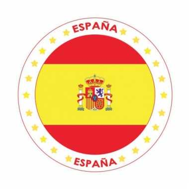 Spanje vlag print bierviltjes
