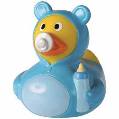 Speel badeendje hoera een jongen