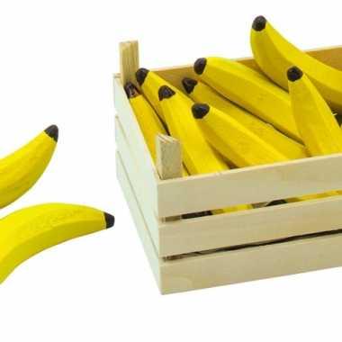 Speel bananen in kist