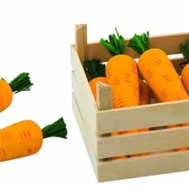 Speel wortelen in kist