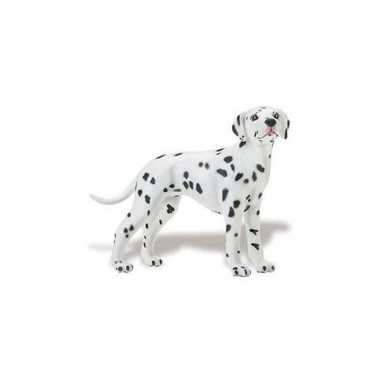 Speeldier dalmatier van plastic 9 cm