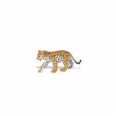 Speeldier luipaard welpje van plastic 9 cm