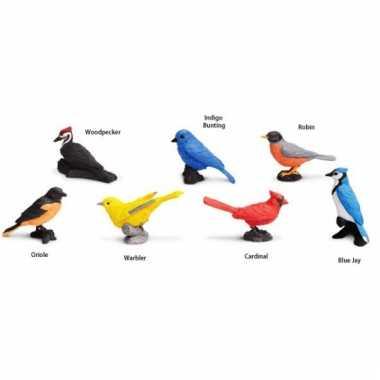 Speeldieren vogels van plastic