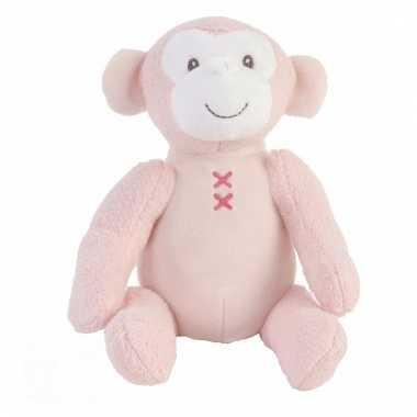 Speelgoed apen knuffel marly 17 cm