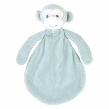 Speelgoed apen knuffeldoekje marlo 26 cm