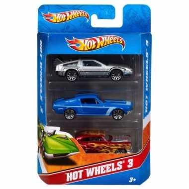Speelgoed autos hot wheels 3 x