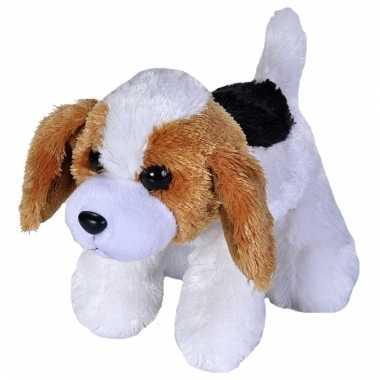 Speelgoed beagle knuffel 18 cm