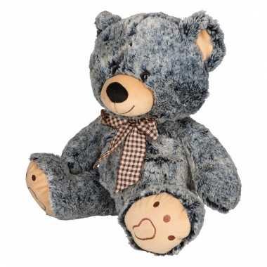 Speelgoed beren knuffel groen 32 cm