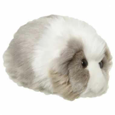 Speelgoed dieren cavia knuffel 13 cm