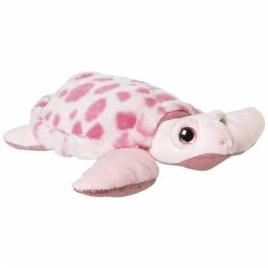 Speelgoed dieren zeeschildpad knuffel 23 cm