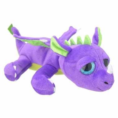 Speelgoed draak knuffel 33 cm
