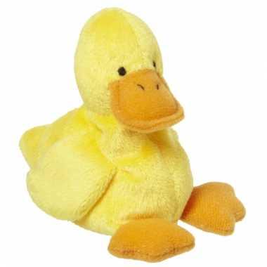 Speelgoed eendje knuffel 10 cm