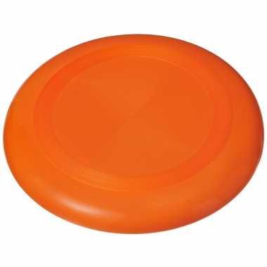 Speelgoed frisbee oranje