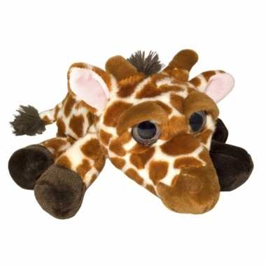 Speelgoed giraf knuffel 33 cm