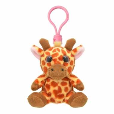 Speelgoed giraf sleutelhanger 9 cm