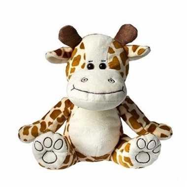 Speelgoed giraffe knuffel 25 cm