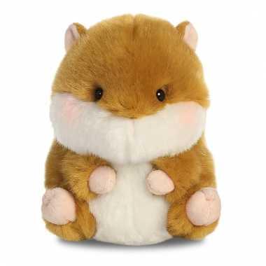 Speelgoed hamster knuffel 12 cm