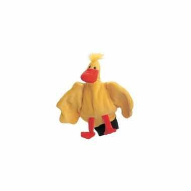 Speelgoed handpop eend 22 cm