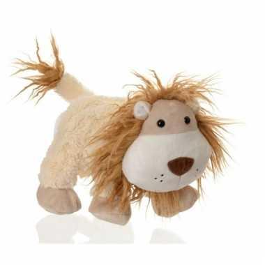 Speelgoed handpop leeuw 24 cm